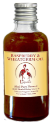 Raspberry Seed & Wheatgerm Blended  Natural Cold Pressed Oils. 50 ml
